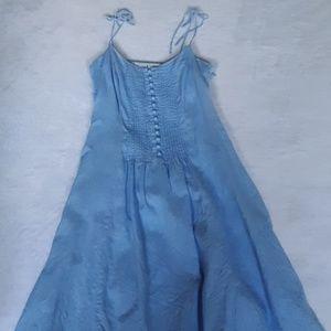 Tommy Hilfiger light blue summer dress 100% linen